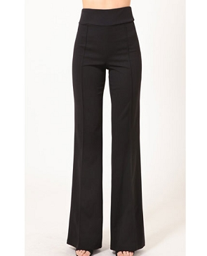 Solid Black Dress Pants