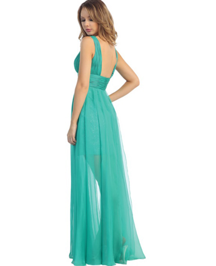 Jade Green Prom Dress, Green Evening Dress, Green Formal Dress, Shop ...