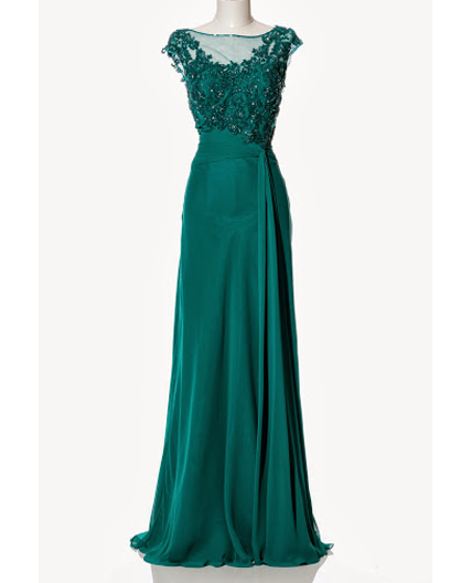 Green evening dress shop mother of the bride dress miami for Jade green wedding dresses