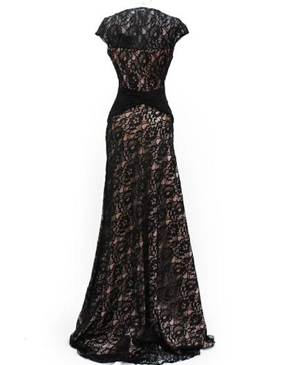 Shop Plus Size Evening Dress Miami, Shop Black Lace Formal Dress ...
