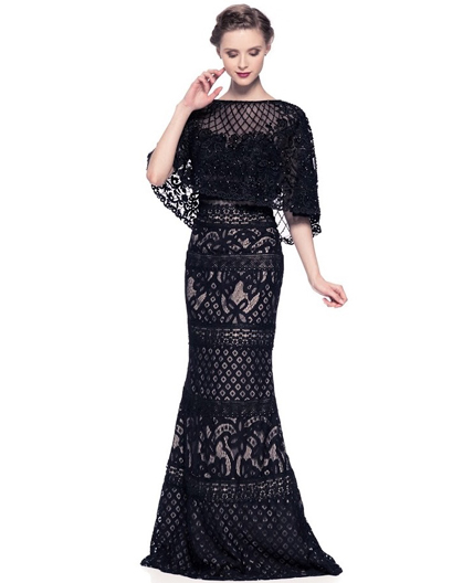 Shop Black Lace Evening Dress Miami Black Lace Evening Gown Miami