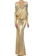 Gold Metallic Magic Dress