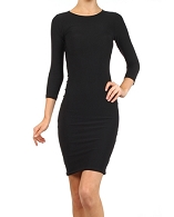 Modest Bodycon Dress- 3 Colors