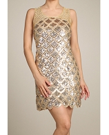Sequins Short Dress- 2 Colors