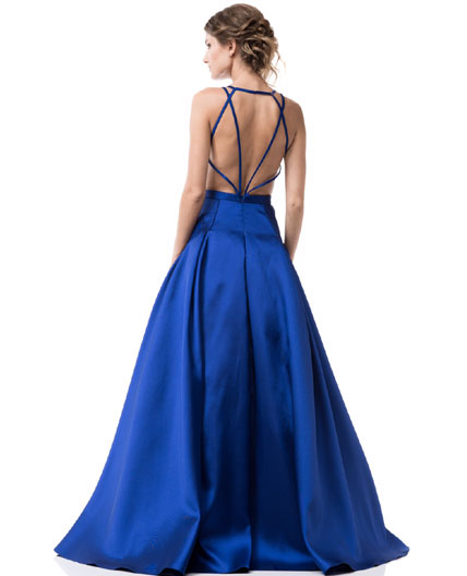 Shop Royal Blue Ball Gown, Blue Prom Dress Miami, Royal Blue ...