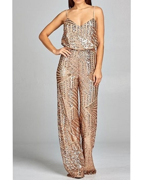 Sequins Jumpsuit- 3 Colors