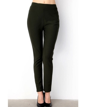 Scuba Stretch Leggings- 2 Colors