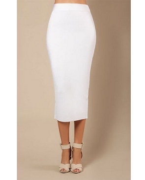 Midi Bandage Skirt- 2 Colors