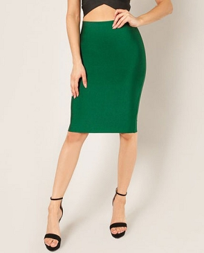 Pencil Bandage Skirt- 2 Colors