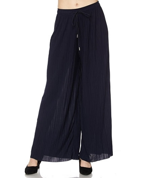 Solid Palazzo Pants- 2 Colors