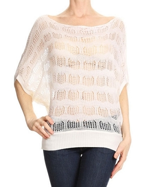 Knit Boat Neckline Top- 3 Colors