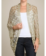 Metallic Crochet Cardigan- 2 Colors