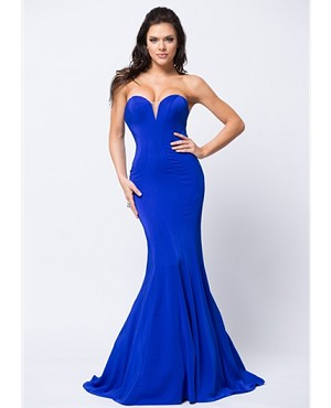 Sweetheart Strapless Mermaid Evening Dress- 2 Colors