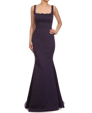 Scuba Knit Mermaid Gown- 3 Colors