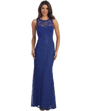 Lace Formal Dress- 2 Colors