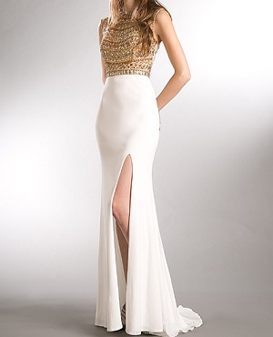 b57fa6812317 Shop White Prom Dress Miami