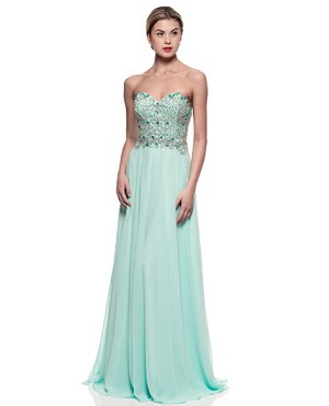 Shop Prom Dress Miami, Aqua Prom Dress, Aqua Evening Dress Miami ...