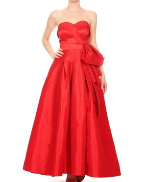 Sweetheart Strapless Taffeta Ball Gown- 3 Colors