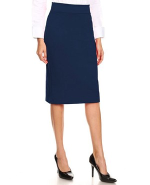 Ponte Knit Pencil Skirt- 5 Colors
