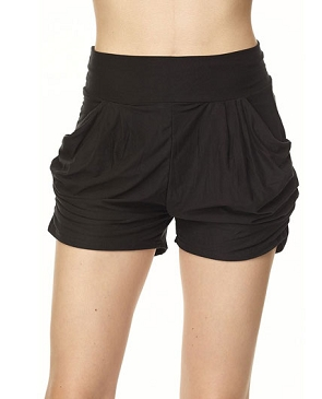 Ruched Bubble Shorts- 3 Colors